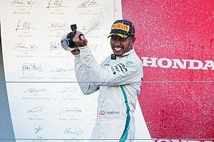 Hamilton: bater recordes de Schumacher nunca foi minha meta