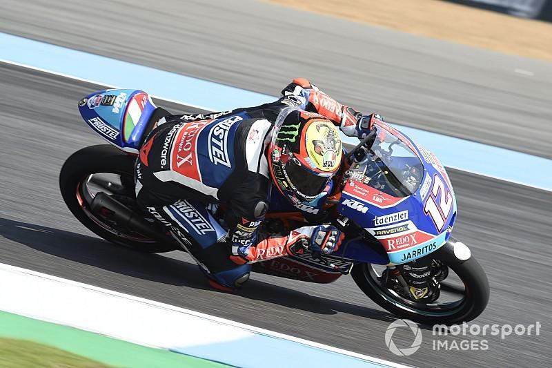 FP2 Moto3 Jepang: Bezzecchi tercepat, Martin masih tercecer