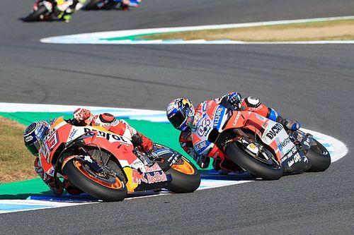 Kalah, Dovizioso sanjung penampilan Marquez