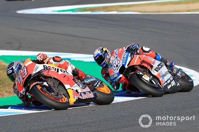 Marquez 'veroorzaakte' crash Dovizioso met hoog tempo