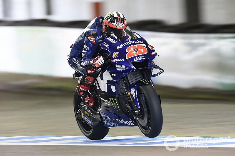 Para Viñales, Yamaha confirmou melhora da Tailândia
