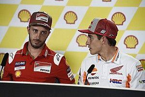 """Márquez: """"La carrera de Bautista me dice que ojo con Ducati, hay que ponerse las pilas"""""""