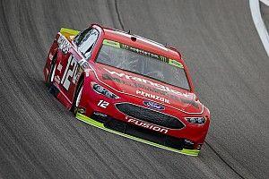 Blaney leads opening Kansas practice, Larson wrecks