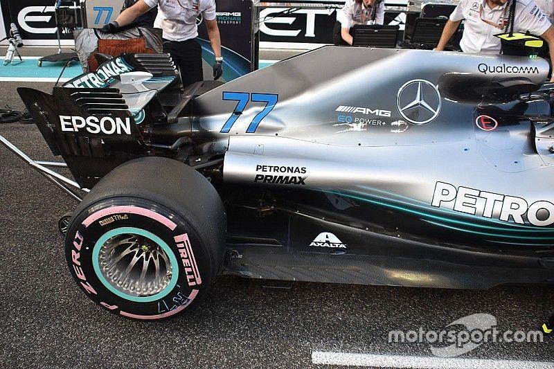 Un truco con los sensores puede favorecer a Mercedes en los test