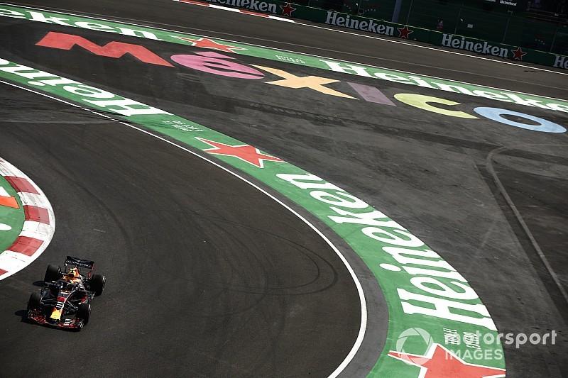 Verstappen lidera TL3 e mantém domínio no México
