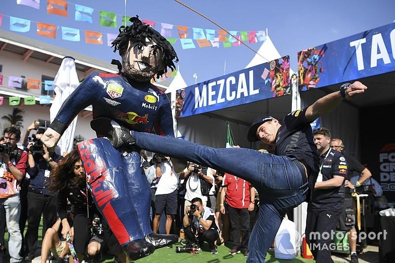 Verstappen estuvo a punto de pegar a alguien tras perder la pole en México