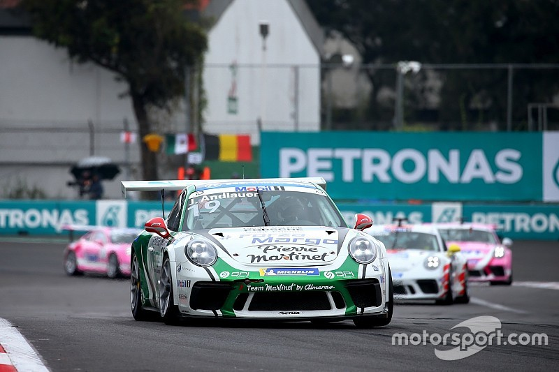 Porsche-Supercup: Andlauer gewinnt Saisonfinale, Ammermüller Meister