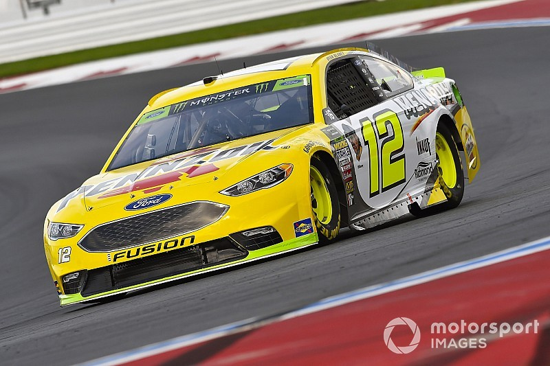 Blaney wins Stage 2 at the Roval as playoff drivers find trouble