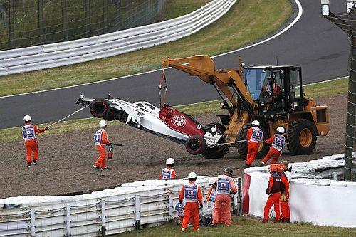 Ericsson: Un error al pasar a Bottas causó el choque en la Q1