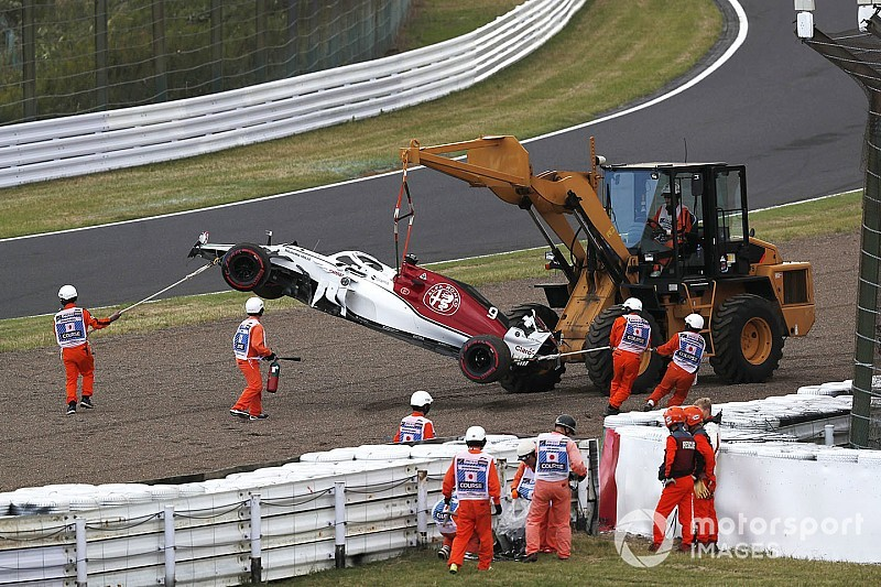 Ericsson: Error passing Bottas caused Q1 crash