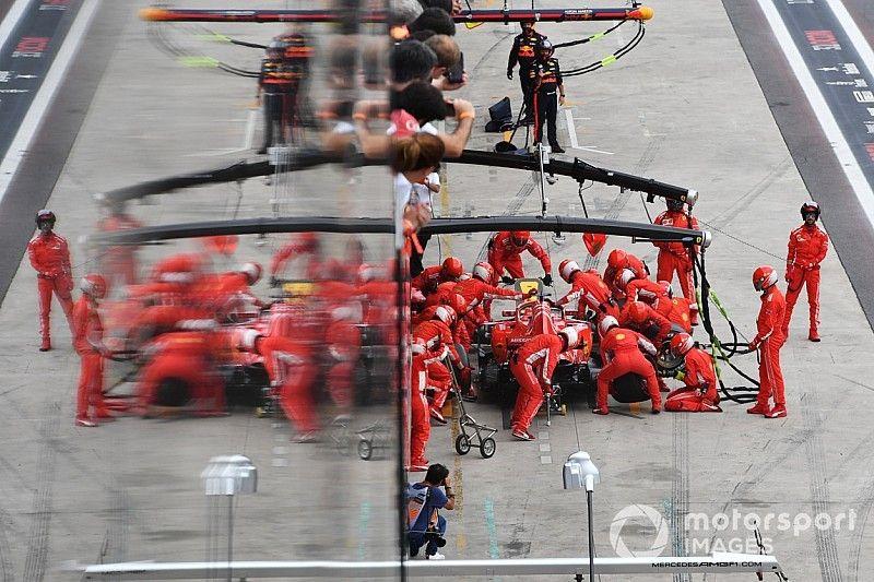 "Ferrari logró en Brasil un pitstop ""de récord"""