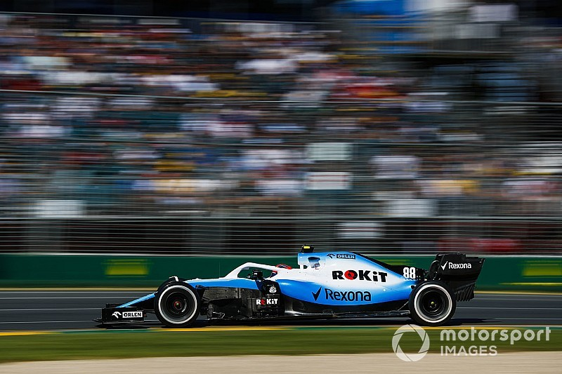 Kubica y un regreso oficial difícil con el Williams