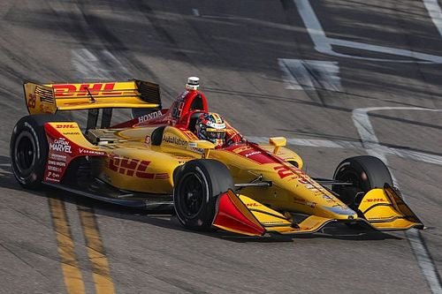 Hunter-Reay inicia al frente en Long Beach y O'Ward en 16°