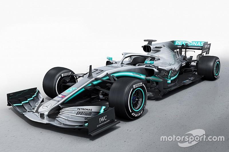 Mercedes, 2019 yılında yarışacağı W10'u tanıttı!