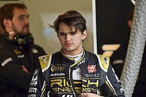 A Haas tesztpilótája sok segítséget kap nagyapjától, Emerson Fittipalditól