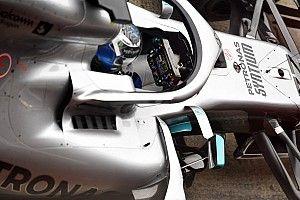 Así funciona el volante del Mercedes W10 de 2019