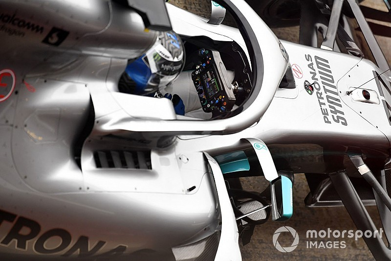 الكشف عن كيفيّة عمل مقود سيارة مرسيدس في الفورمولا واحد