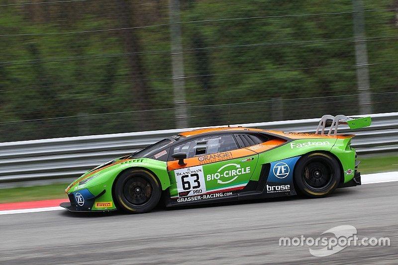 La Lamborghini Huracan del Grasser Racing Team si impone sul bagnato e centra la pole a Monza