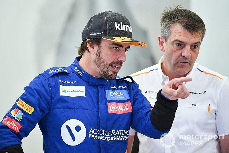 """Alonso merece """"mucho crédito"""" del éxito actual de McLaren"""