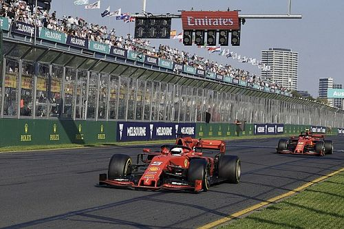 "Ferrari: Melbourne was a ""cold shower"" after 0.5s test lead"