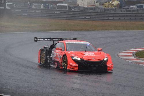 スーパーGT開幕戦岡山決勝速報:大波乱のレースは30周で赤旗終了。ARTA NSX-GT優勝
