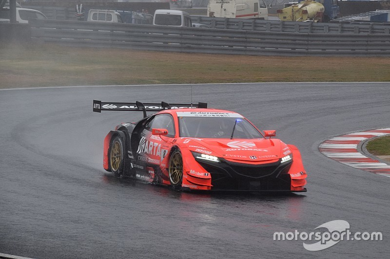 Okayama Super GT: ARTA inherits win as lead Hondas clash