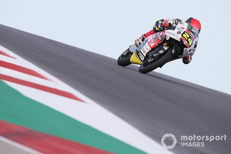 Moto3アメリカズGP決勝:鈴木竜生、トップ快走中にまさかの転倒。カネットが今季初優勝