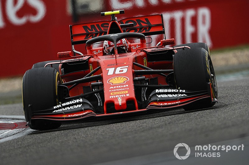 "Leclerc: Strategy to hold up Bottas ""right thing"" for Ferrari"