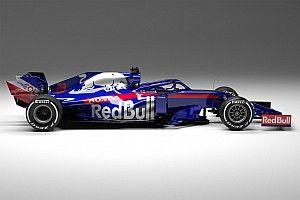 Todas las fotos del nuevo Toro Rosso STR14