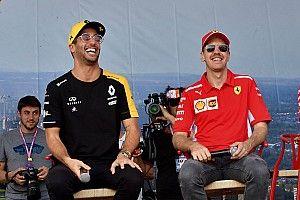 """Abiteboul: """"Vettel? Non posso dire di non essere interessato"""""""