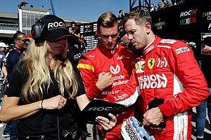 Vettel nem érti, miért hasonlítják össze Mick és Michael Schumacher karrierjét