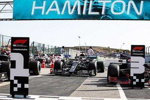 Parrilla de salida GP de Portugal F1