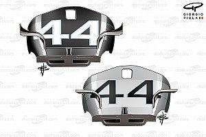 Mercedes: stupiscono le evoluzioni sulla W11