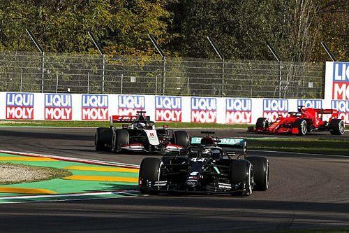 F1エミリア・ロマーニャ:90分1回の貴重なFPはハミルトン首位。フェルスタッペン2番手