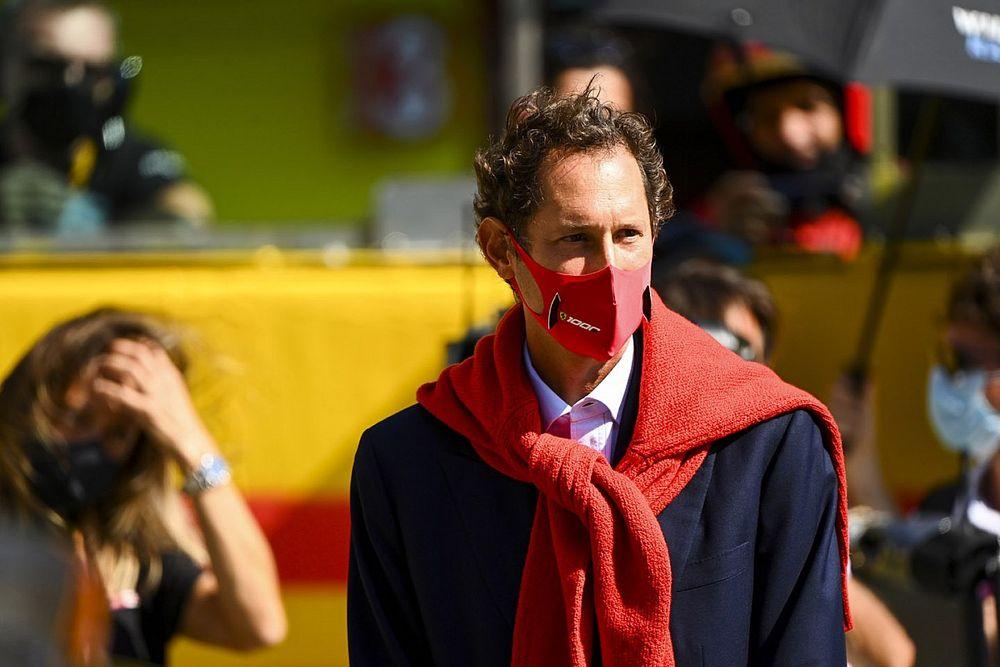 Elkann Tuntut Ferrari Lebih Kompetitif pada F1 2021