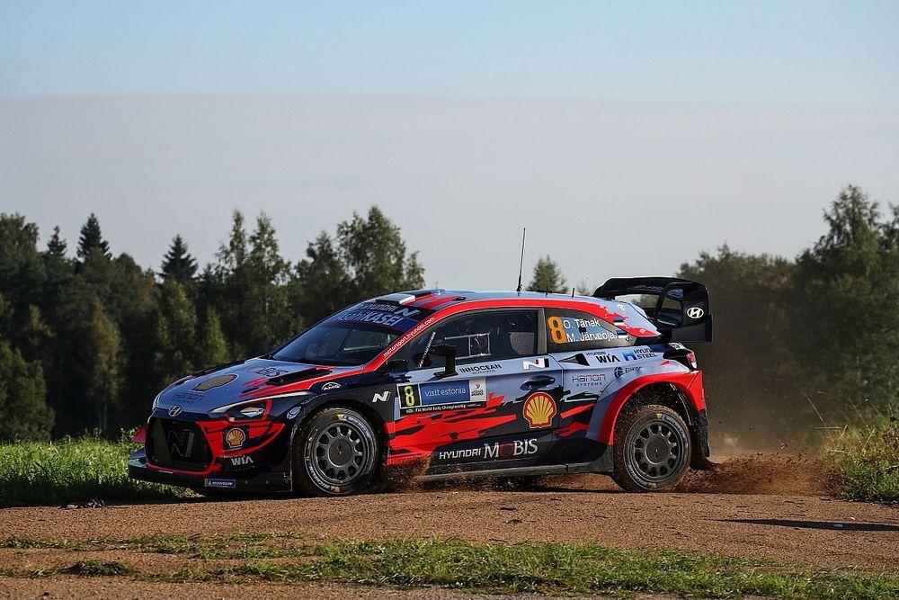 WRC, Rally Estonia, PS2-4: Tanak nella tripletta Hyundai!