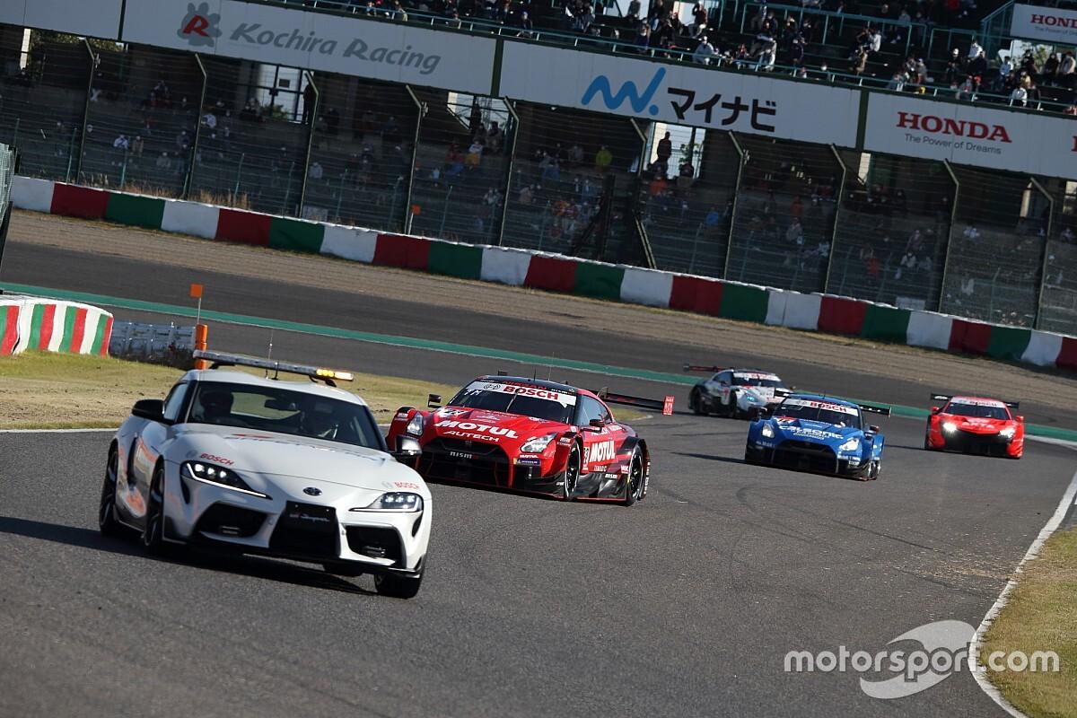 Nissan winner Matsuda's shock at taking Suzuka lead