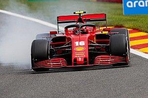 Leclerc no esperaba ver tan atrás a Ferrari en Spa