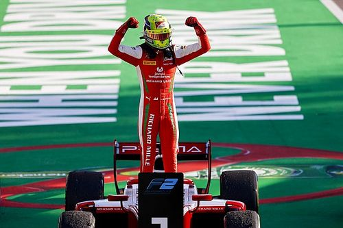 Monza F2: Schumacher charges to first victory of 2020