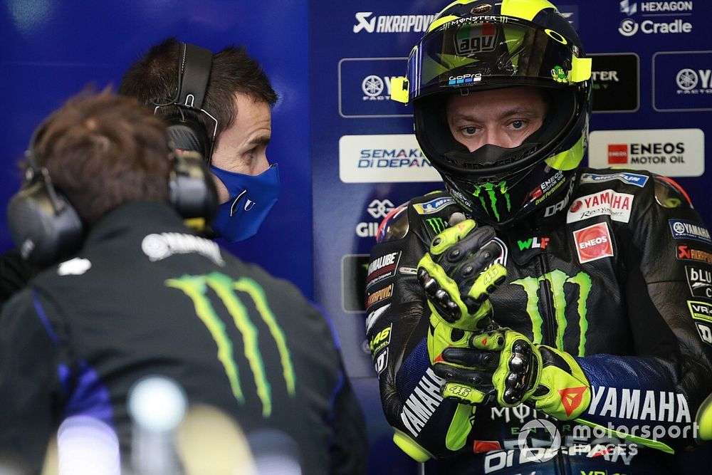 Yamaha names Rossi's standby for European GP