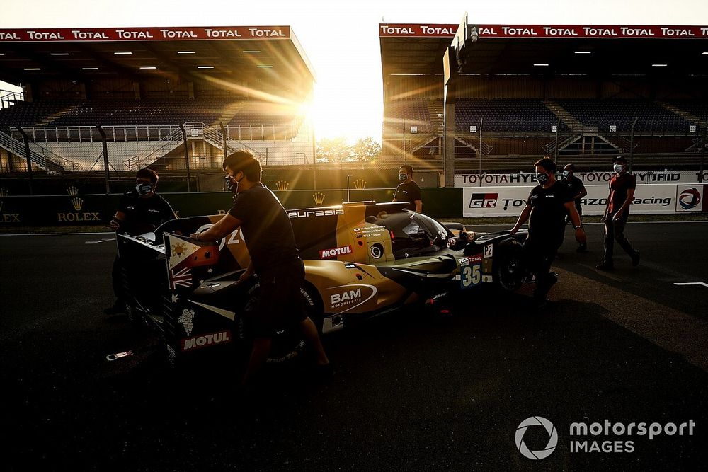 La maratón de Merhi en las 24h de Le Mans
