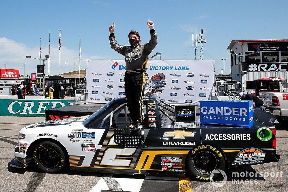 Sheldon Creed wins NASCAR Truck Series race at Gateway