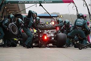 Aston Martin ne regrette pas le pari de Vettel sur les slicks