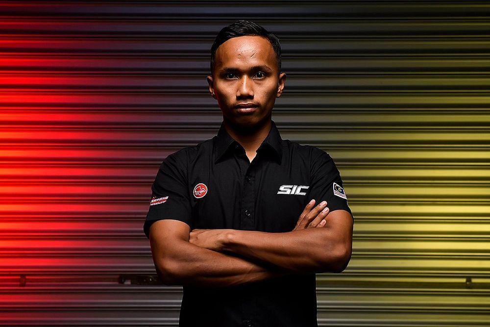 Pembalap Malaysia Syarifuddin Azman Debut Moto3 Aragon
