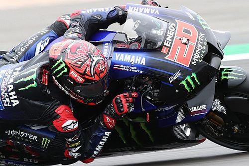 Quartararo won't 'ride safer' after nasty British MotoGP crash