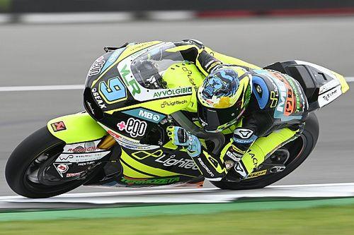 Moto2, Aragon, Libere 1: guizzo di Navarro, terzo Bezzecchi