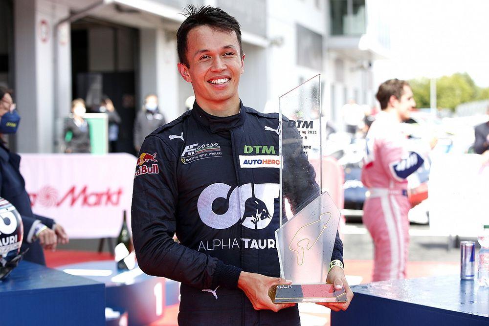 Albon felt he wasn't overshadowed before maiden DTM win