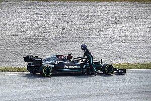 Hamilton se aferra a los datos de Bottas en la FP2 de Zandvoort