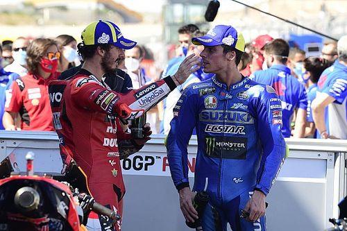 "Mir ""not really satisfied"" with Aragon MotoGP podium return"