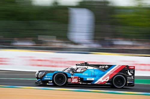 Alpine da la sorpresa en la FP3 antes de la Hyperpole de Le Mans